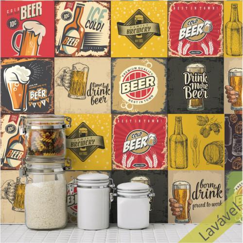 Adesivo Azulejo Cerveja Artesanal