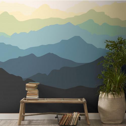Painel Montanhas Aurora