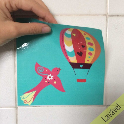 Adesivo Azulejo Balão Sonhador