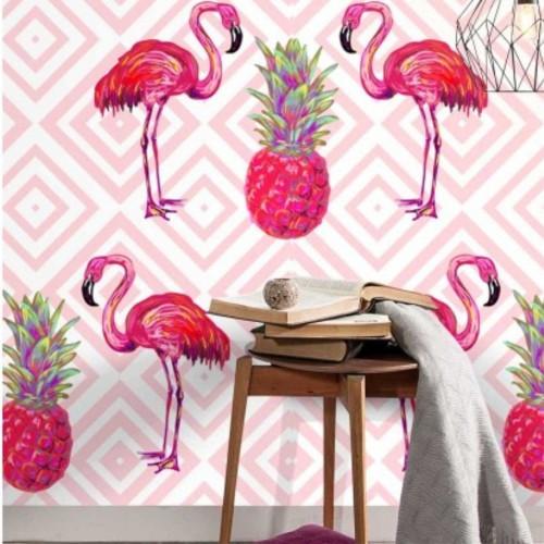Papel de Parede Flamingo Flaminguito