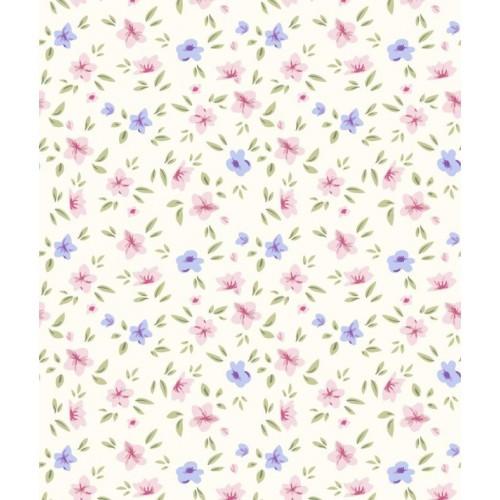 Papel de Parede Floral Heleny