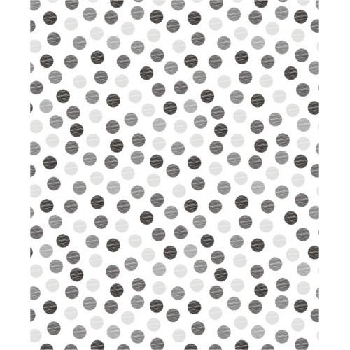 Papel de Parede Dots Cinza
