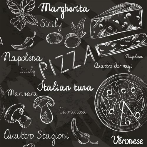 Papel de Parede Pizza Italiana