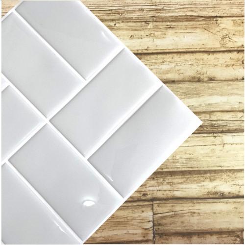 Placa de Pastilha Adesiva Resinada Patch Cinza Claro - 30cm x 30cm