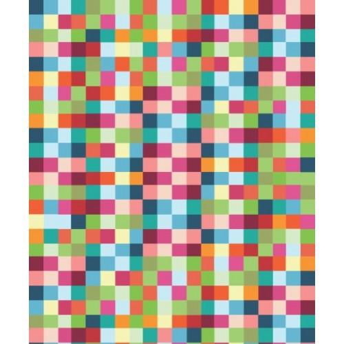 Papel de Parede Quadradinhos Colorido