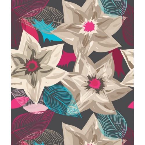 Papel de Parede Floral Taisy
