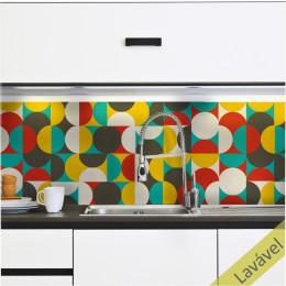 Adesivo Azulejo Bauhaus