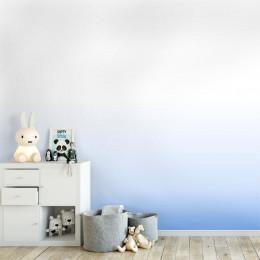 Painel Degradê Branco e Azul Blockout