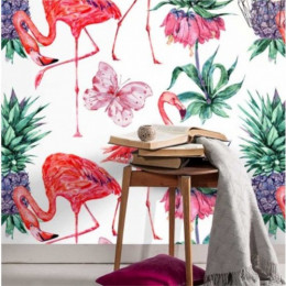 Papel de Parede Flamingo Celestun
