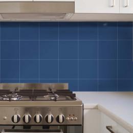 Adesivo Azulejo Color Block Classic Blue