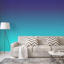 Painel Degradê Tons de Azul Blockout