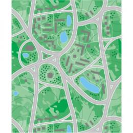 Papel de Parede Mapa da Cidade