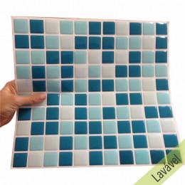 Placa de Pastilha Adesiva Resinada Pacífico - 28,5cm x 31cm